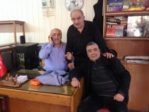 İSMAİL TOKER,NURİ ARTAR,İLHAN GÜLERYÜZ